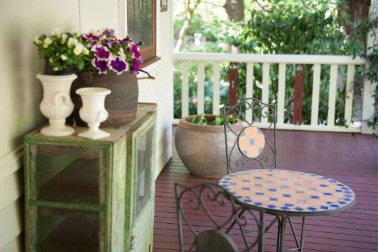 Mount Dandenong, Australia: Outdoor balcony area