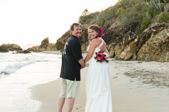 South Coast, St. Thomas: Happy Ever After on Limetree Beach