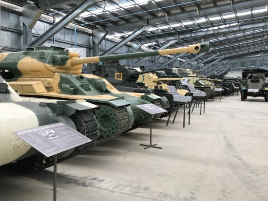 Cairns Region, Australia: Just a few of the tanks and guns on display