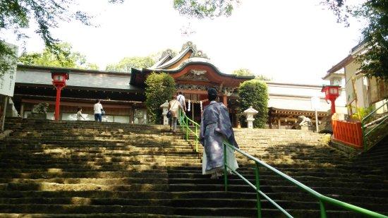 Satsumasendai, Japonya: 拝殿