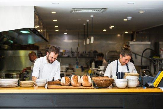 Seppeltsfield, Australia: Chef's hard at it