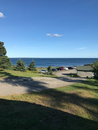 Riverport, Kanada: view from cabin 1
