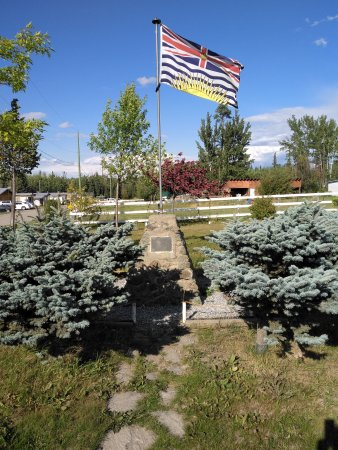 Vanderhoof, Kanada: The geographic centre of BC