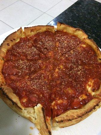 Pizza chicago maravilhosa