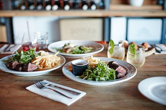 Rutherglen, Australia: Dinner menu items