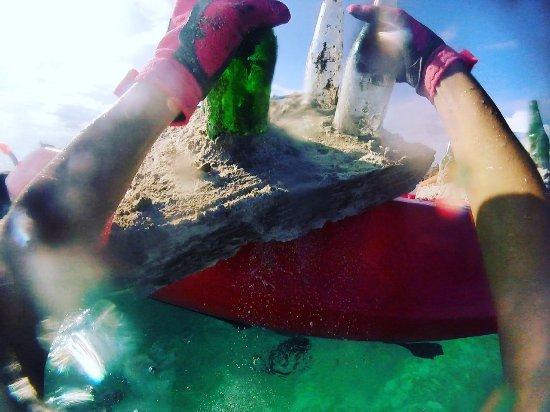 Semporna, มาเลเซีย: Dropping an artificial reef