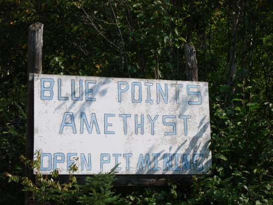The Blue Point Amethyst Mine