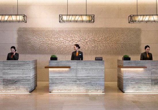 Seongnam, South Korea: Reception Desk
