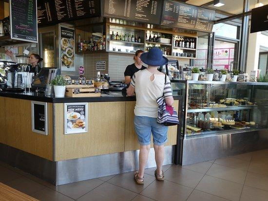 The Coffee Club: service area inside