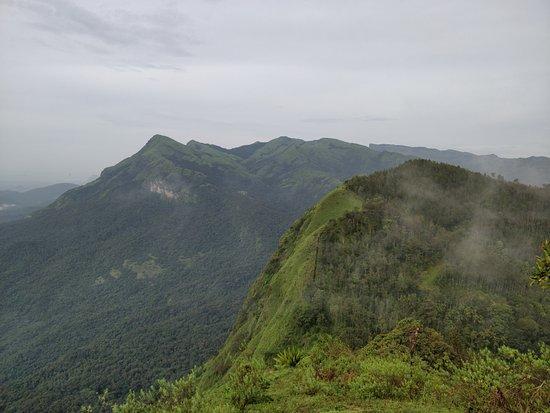 Kalasa, India: View from a trek point near homestay