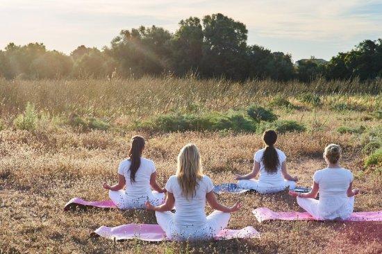 Hilton Sa Torre Mallorca: Yoga Class