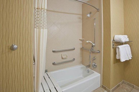Hearing Accessible Tub Bathroom - Picture of Hampton Inn Matamoras ...