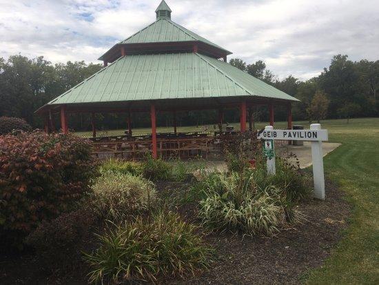 Sidney, OH: Gazebo at Tawawa Park