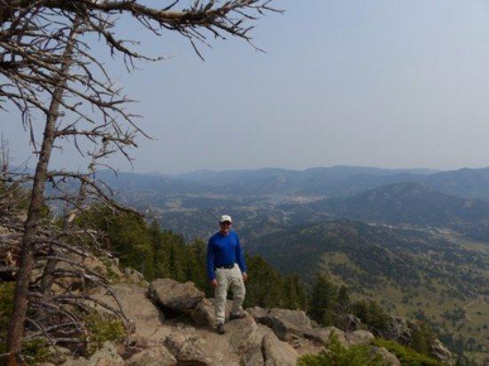 Aspenglen Campground, Rocky Mountain National Park: Deer Mountain Summit--amazing views!