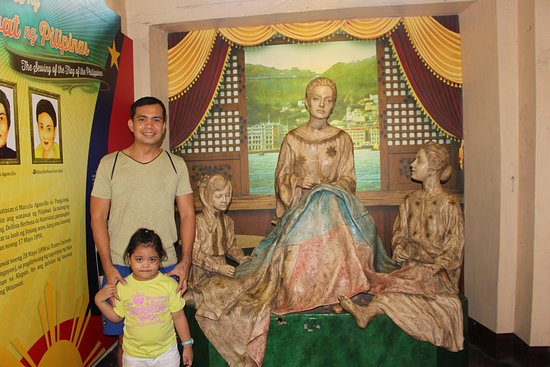 Taal, Philippines: Marcela Agoncillo museum