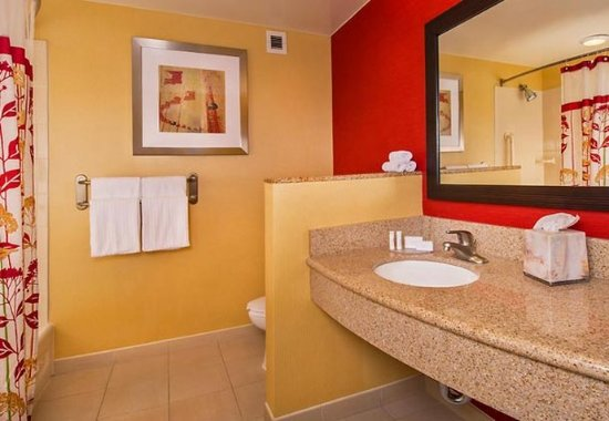 Annapolis Junction, MD: Guest Bathroom