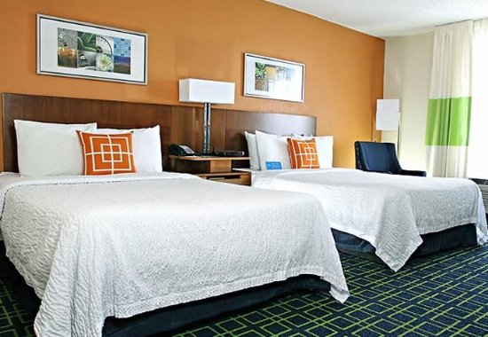 Πρίνστον, Ιντιάνα: Double/Double Guest Room