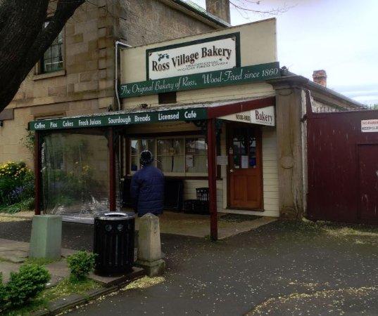 Ross, Australië: The Bakery front