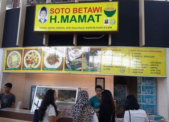 Soto Betawi Picture Of Soto Betawi H Mamat Tangerang Tripadvisor