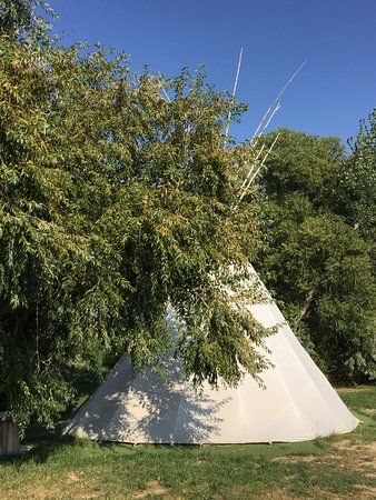 Looks like you may be able to rent this teepee for the night?
