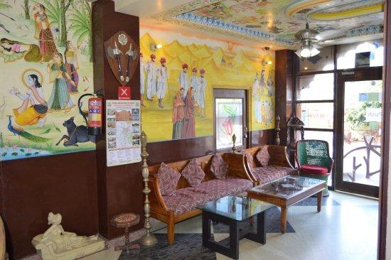 Hotel Gulab Garh (Pure Veg): Lobby