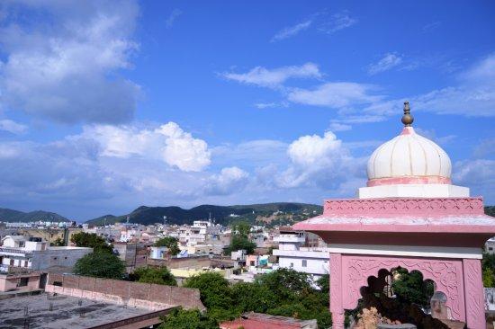 Hotel Gulab Garh (Pure Veg): Rooftop View