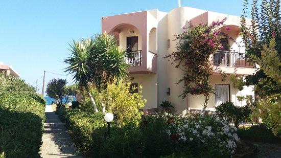 Stavromenos, Yunani: Сентябрь 2017 г. Сад ухоженный, номера чистые. Все, что нужно есть. Но, не для взыскательных кли