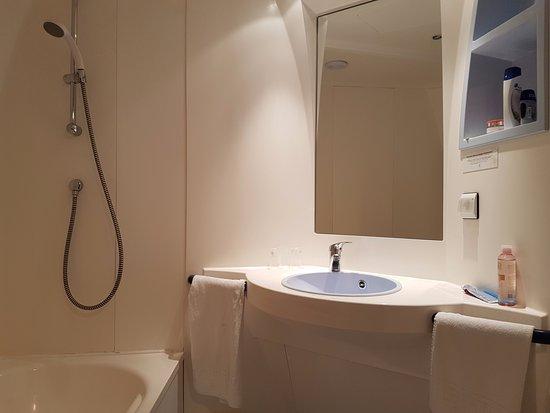 Pralognan-la-Vanoise, Frankrike: La salle de bain