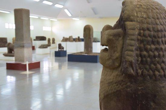 Champasak Town, Laos: Vat Phou - The museum
