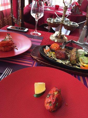 Gaillard, Prancis: Restaurant Indien Bollywood