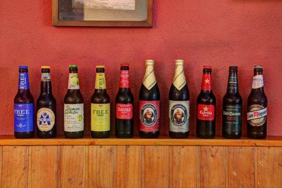 Cervesses de tot tipus al Cafè de la Plaça Cornudella de Montsant Cafè de la Plaça