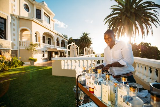 Bantry Bay, South Africa: Sunset drinks