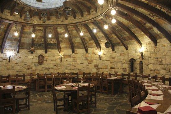 Casa Do Rouco: Comedor mesa redonda