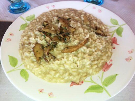 Nebbiuno, Italia: risotto con i funghi