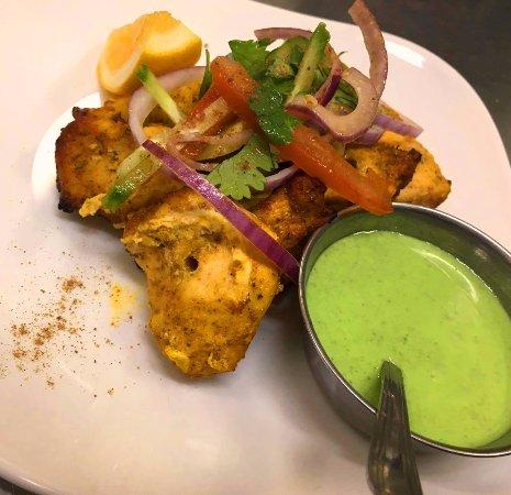 Master of India Restaurant : Chicken Skewer 8848