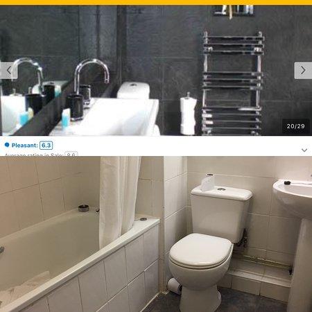 ชาเล่, UK: To go with my review! Images advertised on the website vs reality!   God knows where they got th