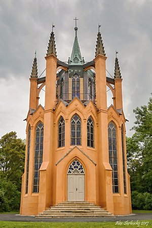 New Gothic temple
