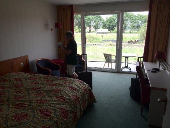 Ootmarsum, Pays-Bas : De ruime kamer met uitzicht
