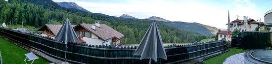 Obereggen, Ιταλία: Panorama Aussicht von unserer Suite.