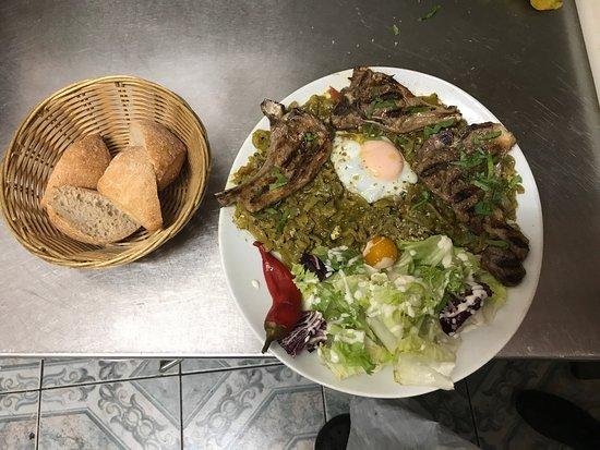 Wasquehal, Francia: Les plats