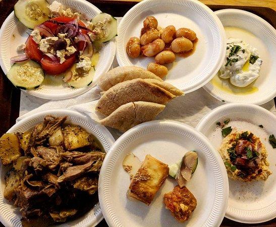O Grego: 6 dish dinner