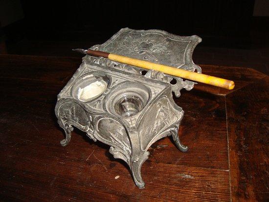 San Mauro Pascoli, Italia: La penna del poeta