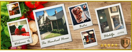 visit the Hundred House Inn & Bistro, Bleddfa