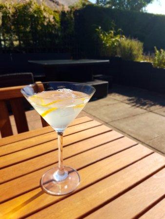 Swinton, UK: Pineapple Martini on the Terrace