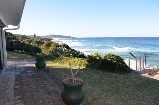 Umzumbe, South Africa: Sea view from outside