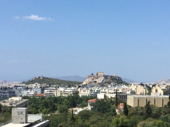 Hilton Athens: View from your balcony