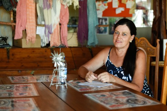 Willowmore, Zuid-Afrika: The Farmstall is owned by San-Marie van der Bijl and located on her Karoo Farm