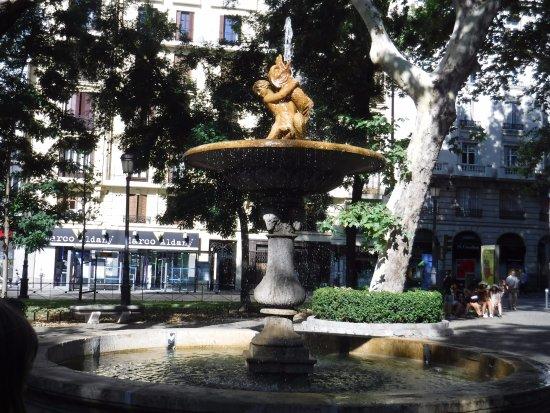 Paseo del Prado fountain