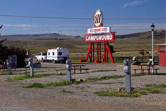 Rawlins, WY: Red Desert Rose Campground