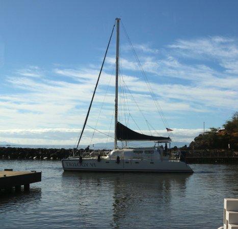 Lanai City, HI: our boat